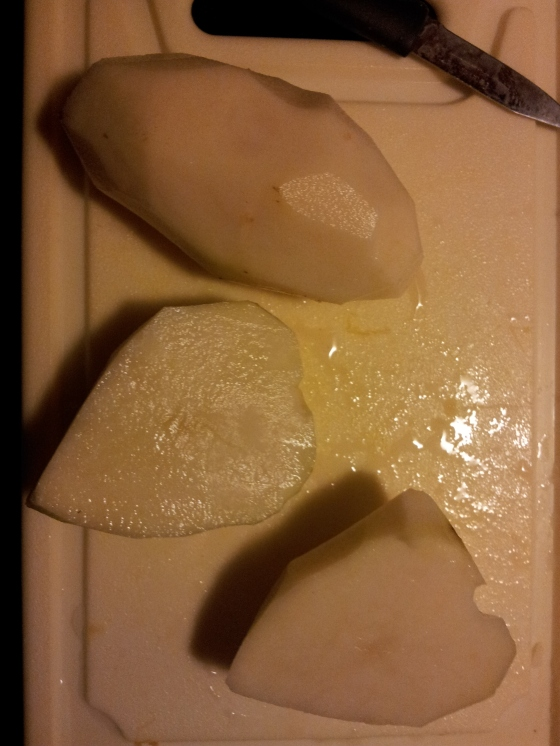 Heart shaped potatoes :)
